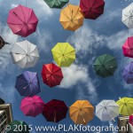 Floating Umbrellas, Baarn, Kunst